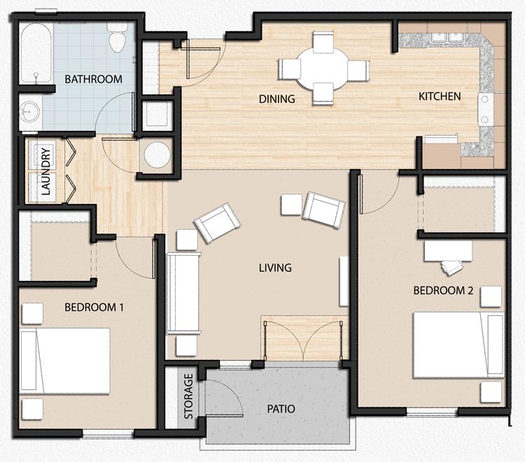 Cheap Apartments In California: Avery Gardens Apartments